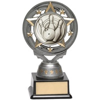 Ten Pin Bowling Trophy 150mm