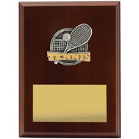 Tennis Plaque 200mm