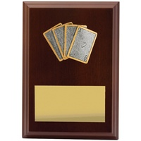 Cards Plaque 150mm