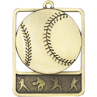 Baseball Medal Gold