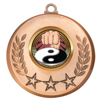 Martial Arts Medal Bronze