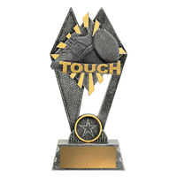 Touch Rugby Trophy 180mm