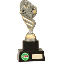Rugby Trophy 200mm